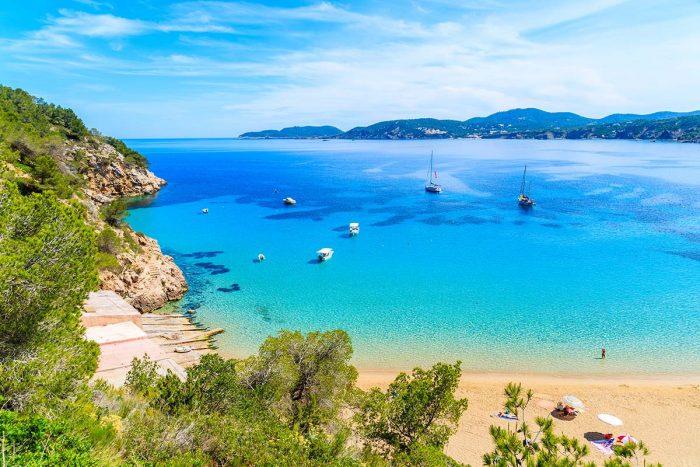Mejores Playas de Ibiliza: Cala San Vicente