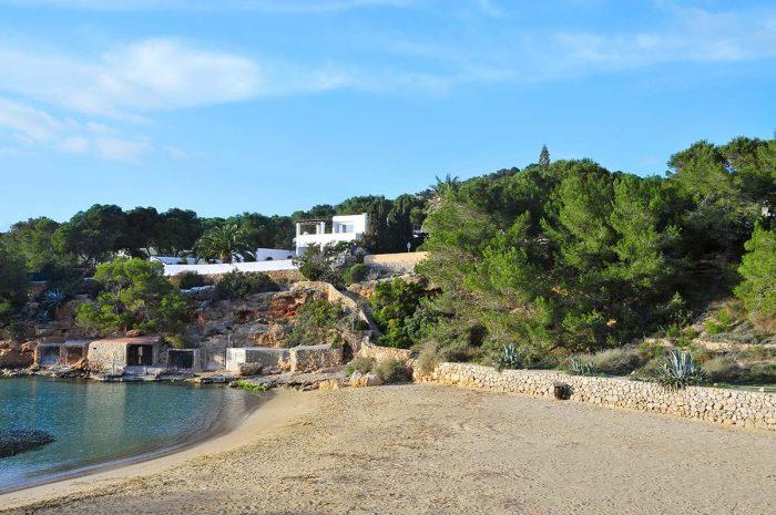 Playas de Ibiza perfectas para ir con niños: Cala Gració
