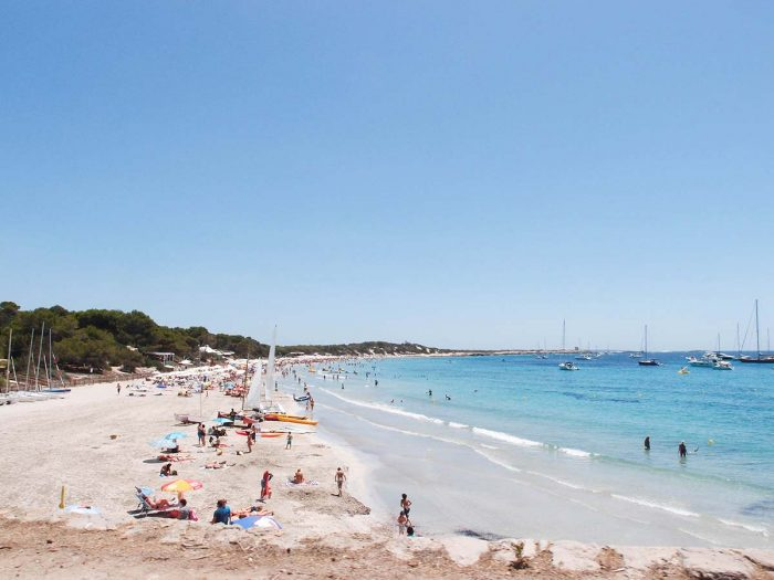 Las Mejores Playas de Ibiza: Ses Salines