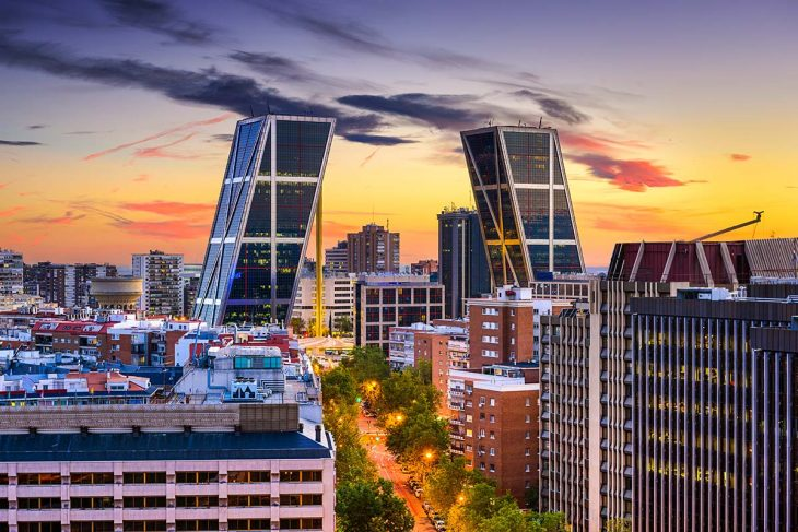 Alojarse en el barrio Chamartín de Madrid, buena relación calidad precio