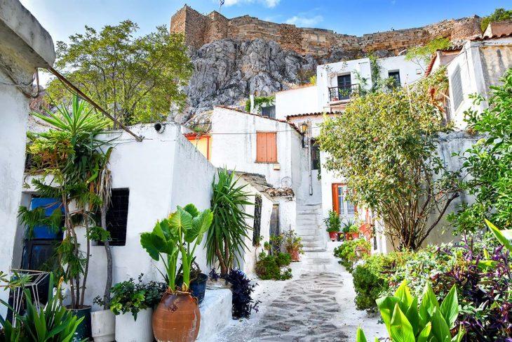 Alojarse en Atenas: Anfiotika, ideal para estar cerca de la Acrópolis
