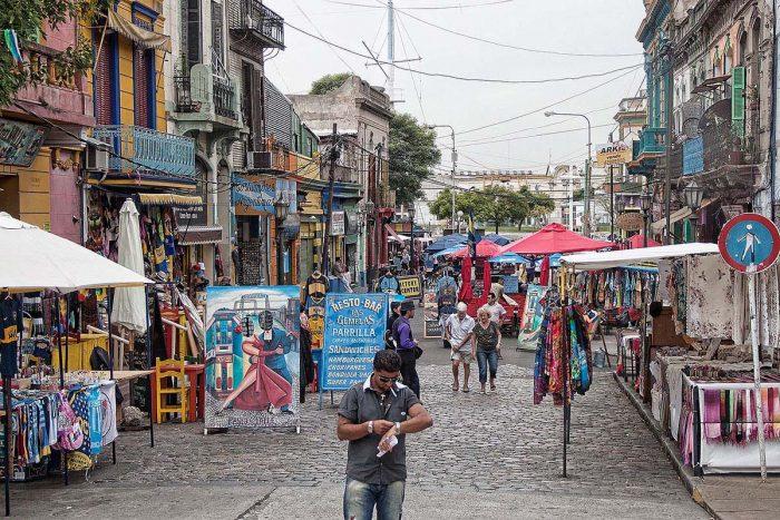 Pasear por Buenos Aires: La Boca