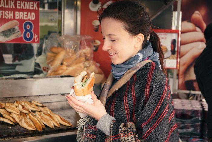 Comer y beber en Estambul