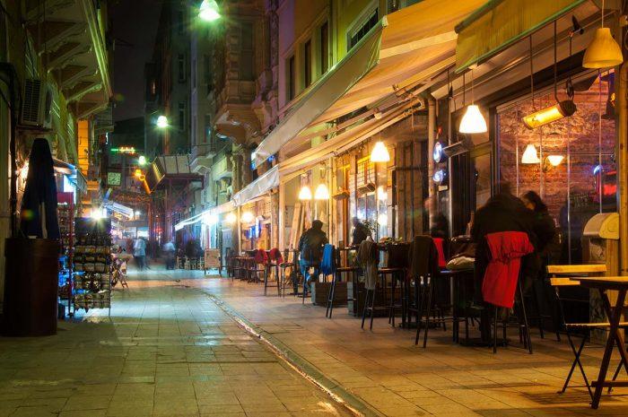 Vida nocturna en Estambul