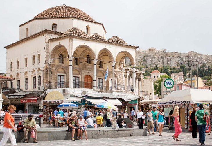 Dormir en Atenas: Monastiraki, céntrico y muy animado