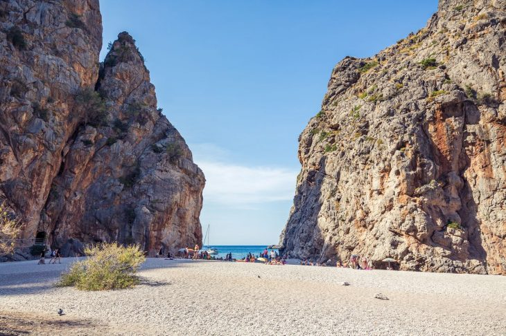 Mejores playas de Mallorca: Sa Calobra