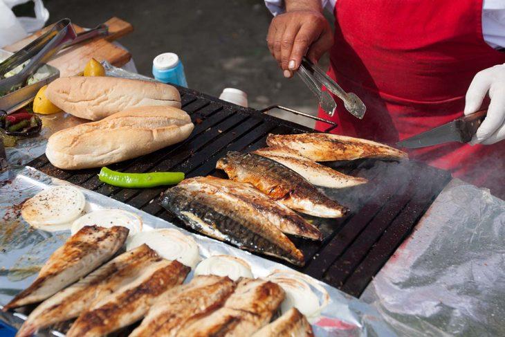 Comer en Estambul