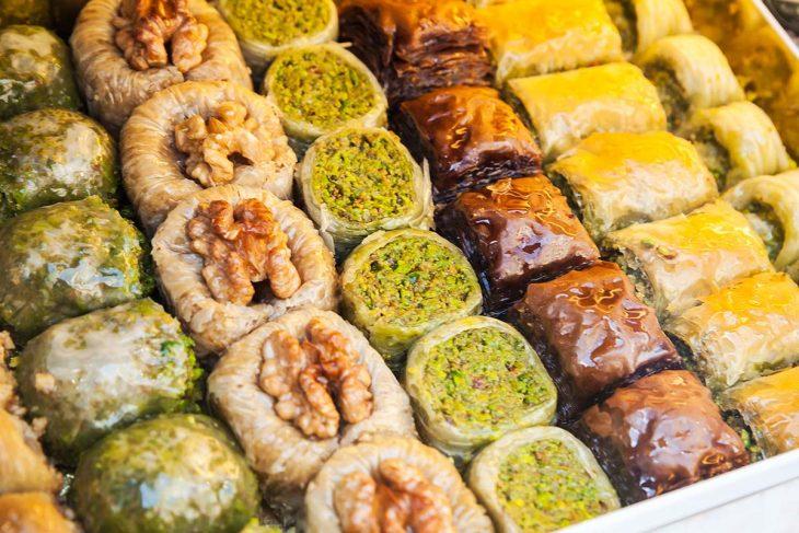 Deliciosos dulces de Estambul