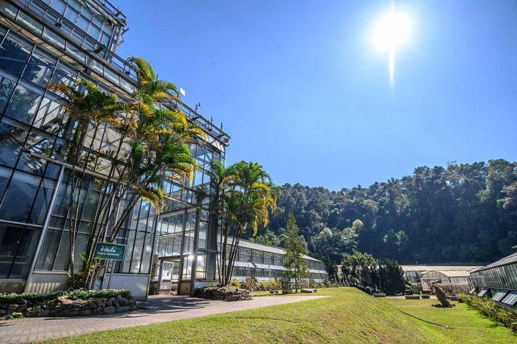 El Jardín Botánico de Chiang Mai entre las cosas para hacer y visitar.