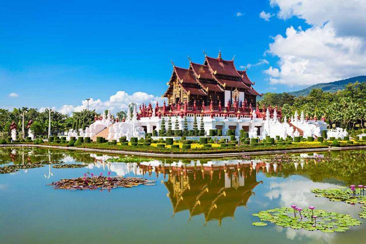 Parque Real Rajapruek para ver en Chiang Mai