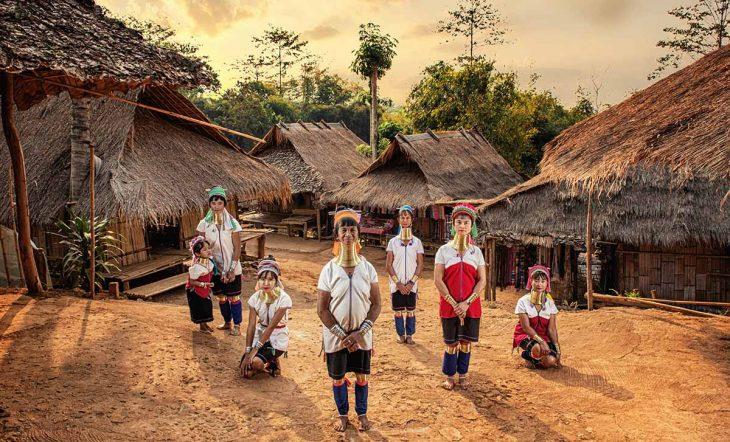 Visitar la Tribu Karen Hill en las montañas de Chiang Mai
