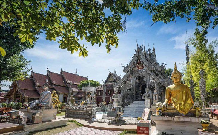 Cosas que hacer en Chiang Mai: Visitar el Wat Srisuphan
