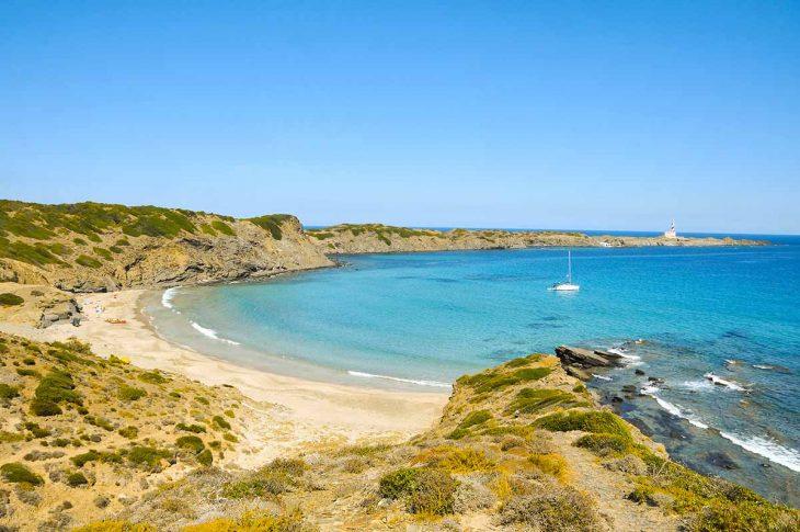 Playas de Menorca: Cala Presili