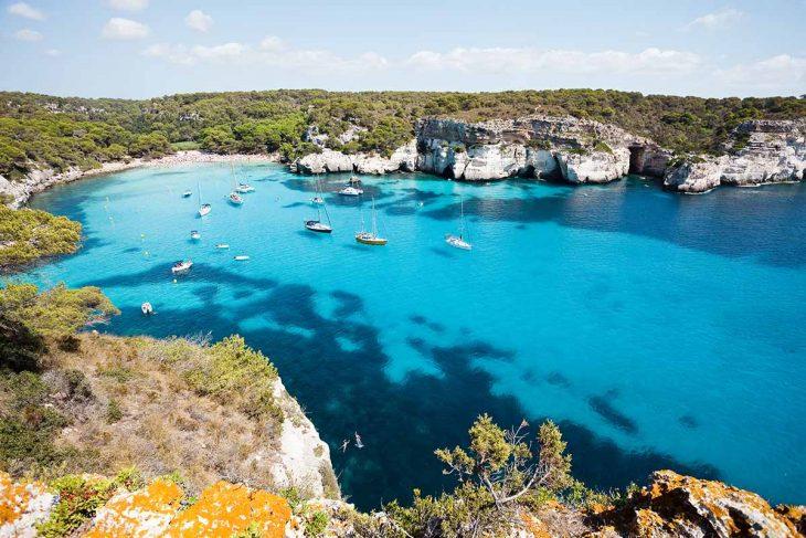 Cala Turqueta entre las mejores playas de Menorca