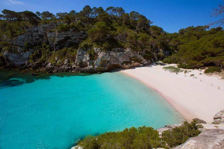 Playas en Menorca: Macarella y Macarelleta