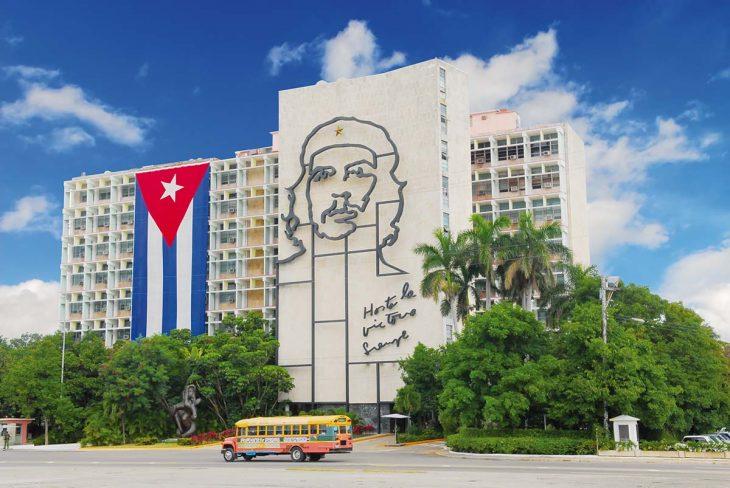 Plaza Revolución en La Habana