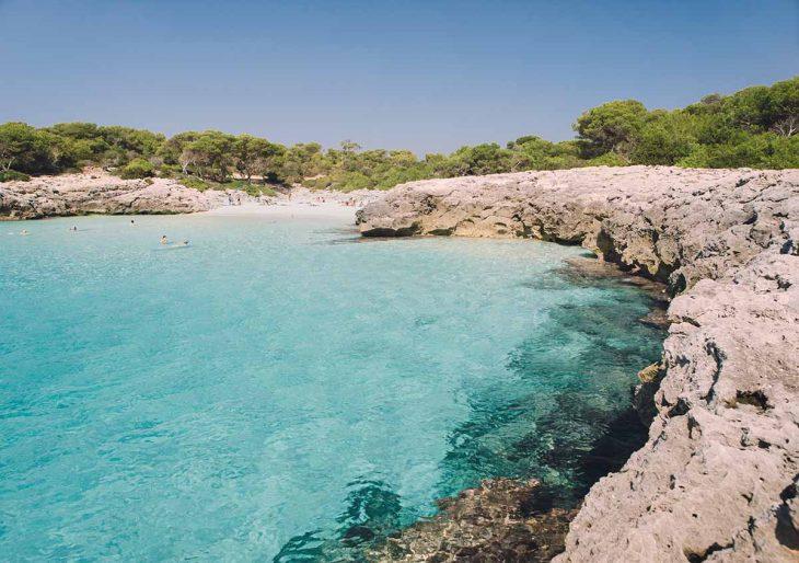 Playas en Menorca: Talaier