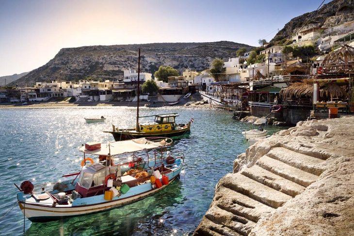 Matala: alojaiento en Creta con atmosfera relajante