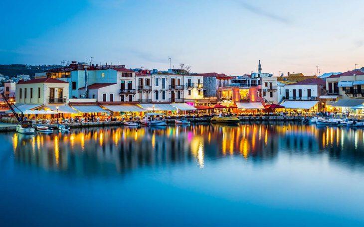 Rethymon, un lugar apropiado para alojarse en Creta en familia