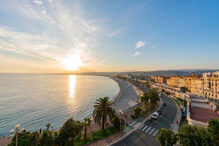 Alojamiento en Niza en el Promenade des Anglais es bastante caro