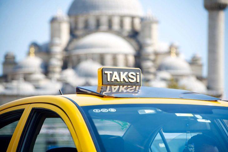 Los taxis en Estambul para moverse