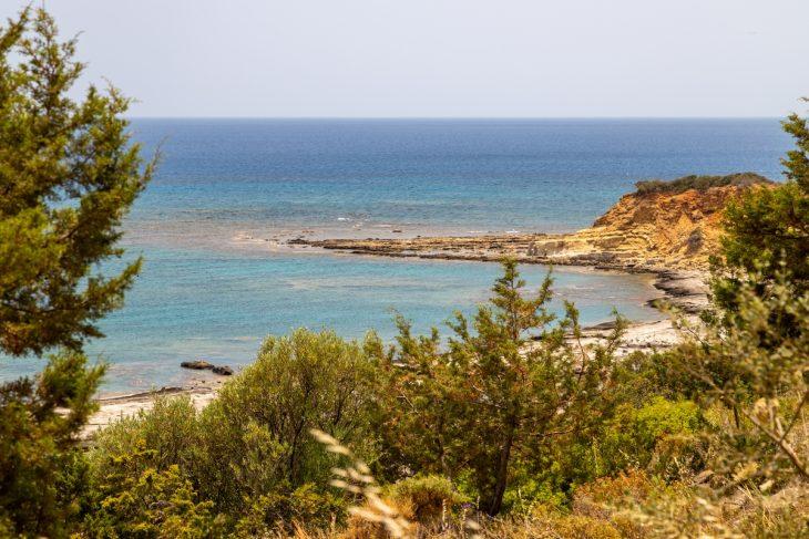 Kiotari, una de las playas más hermosas de Rodas