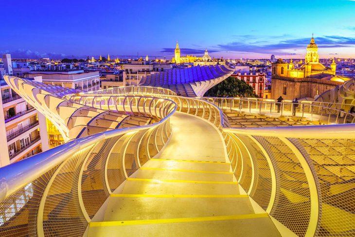 Qué ver en Sevilla? El Metro Parasol