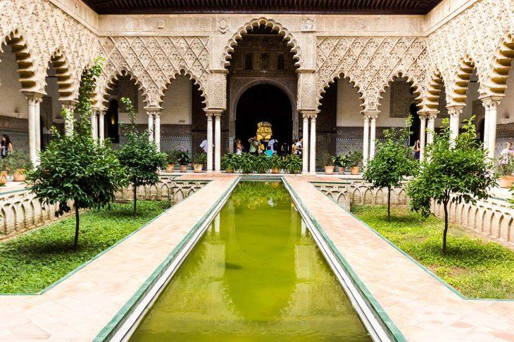 Visita y conoce los Reales de Alcàzares en Sevilla
