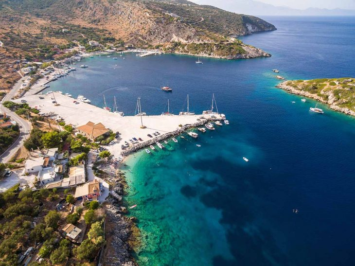 Agios Nikolaos (Skinari), zona agradable poco urbanizada