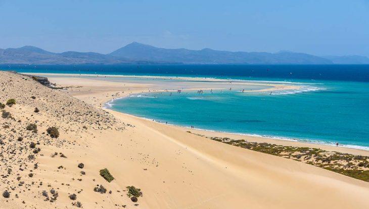 Disfrutar de la Playa Costa Calma en Fuerteventura