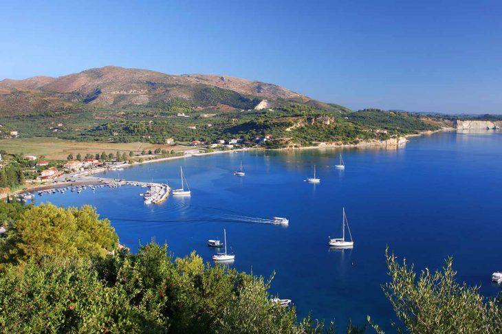 Keri, donde alojarse en Zakynthos para unas vacaciones tranquilas