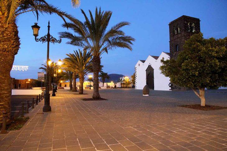 La Oliva, pueblo de interior tranquilo