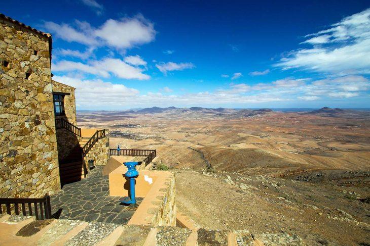 Qué hacer en Fuerteventura: Vistas desde el mirador del Morro Velosa.