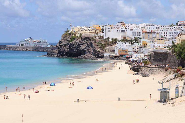 Morro Jable, dormir en Fuerteventura tranquilo cerca de playas excelentes