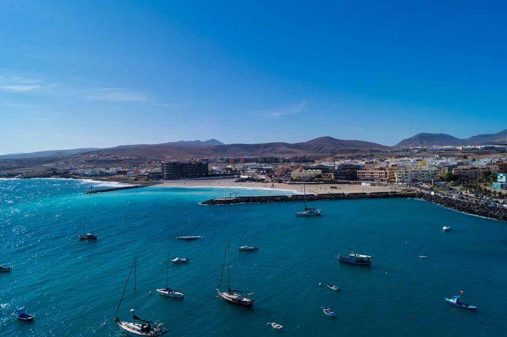 Puerto del Rosario, la capital de Fuerteventura