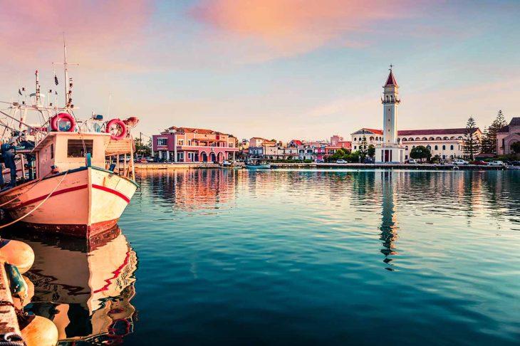 Las mejores zonas donde alojarse en Zakynthos