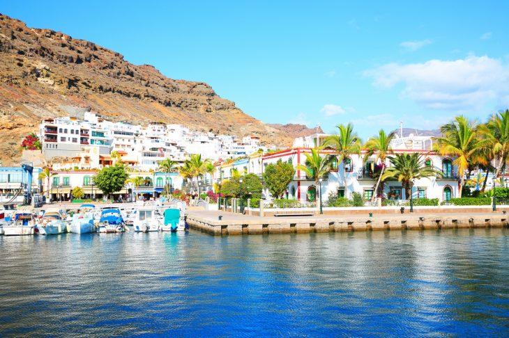 Dormir en Puerto de Mogán, Gran Canarias