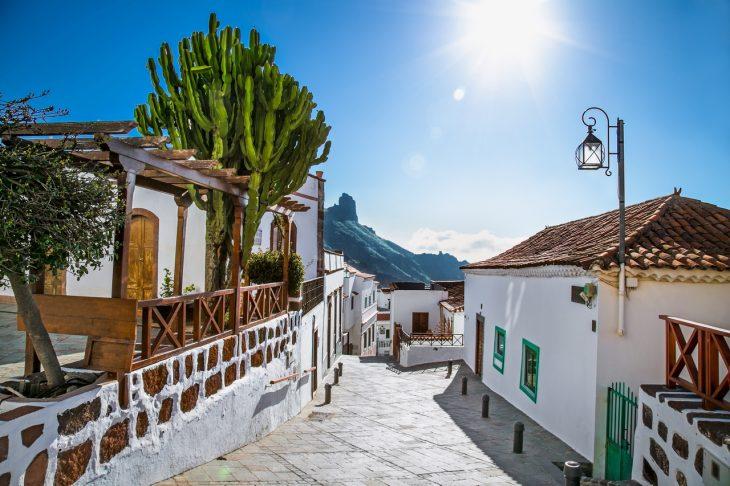 Alojamiento en Gran Canarias: Tejeda