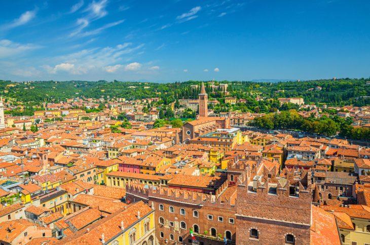 Centro histórico, la mejor zona donde alojarse en Verona