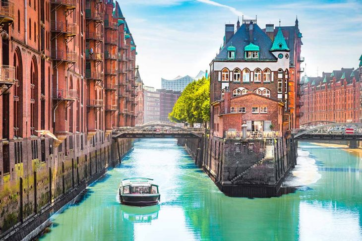 Hafencity, zona elegante con toques bohemios en Hamburgo