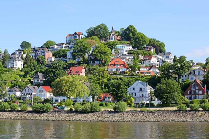 Dónde alojarse en Hamburgo: Blankenese