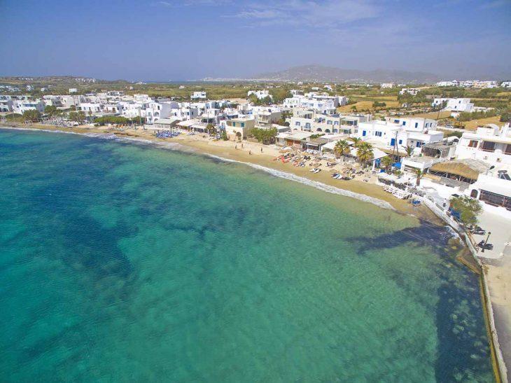 Hospedarse en Naxos: Agia Anna
