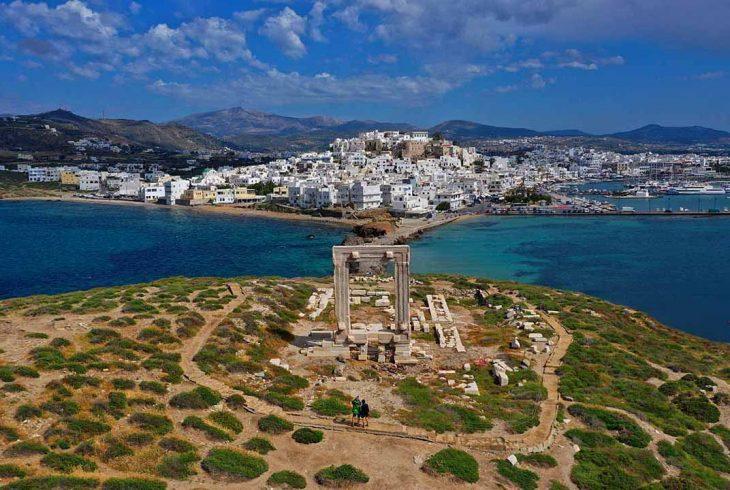 Dormir en Apollonas, Naxos