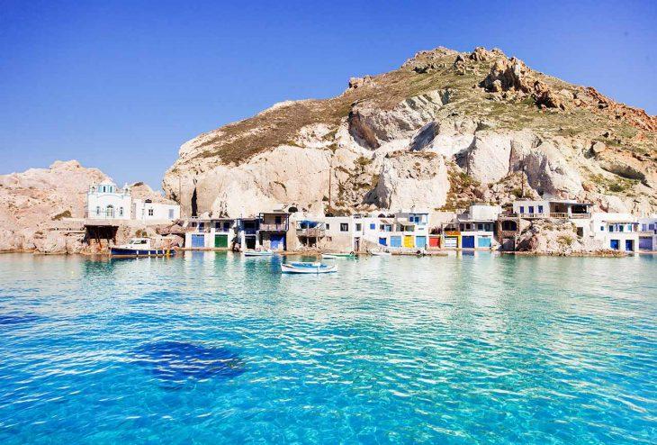 Firopotamos, una excelente playa de aguas turquesas donde dormir en Milos