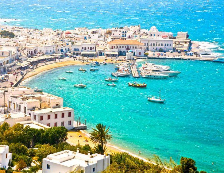 Las mejores zonas donde dormir en Naxos