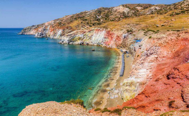 Paliochori, una de las playas más singulares de Grecia
