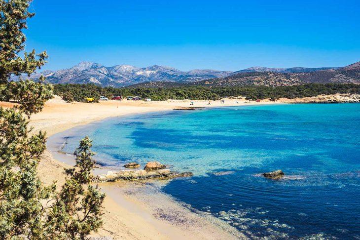 Alojarse en Playa de AliKo: Naxos