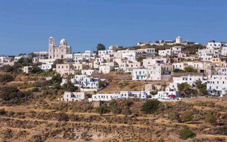 Tripiti, un pueblo en lo alto de una colina con increíbles vistas al golfo