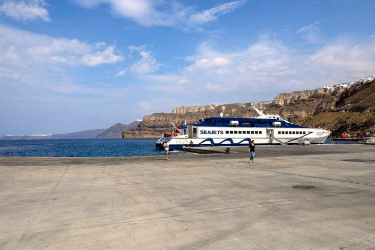 Cómo ir de Atenas a Santorini