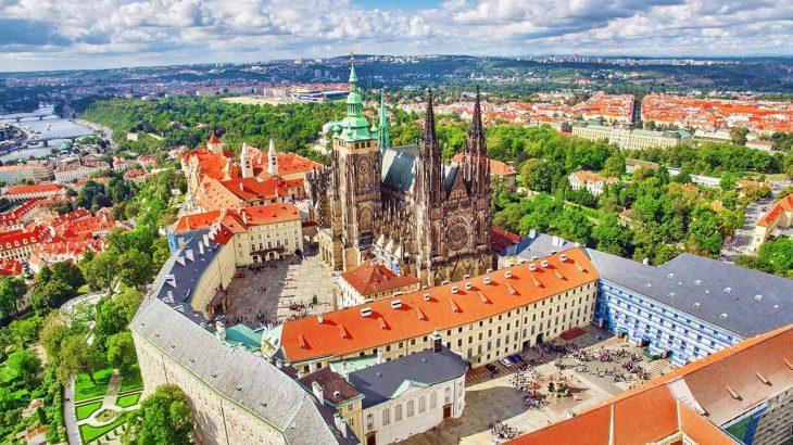Hradčany, el barrio del castillo para alojarse en Praga